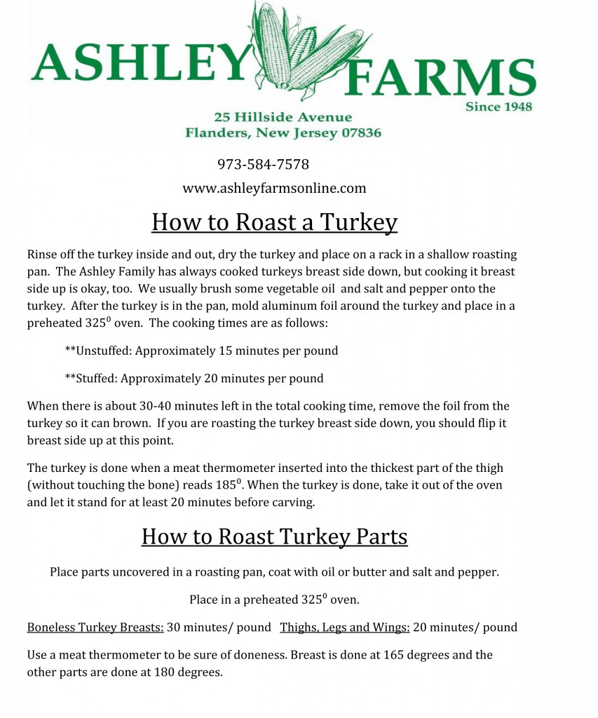 How to Roast Turkey