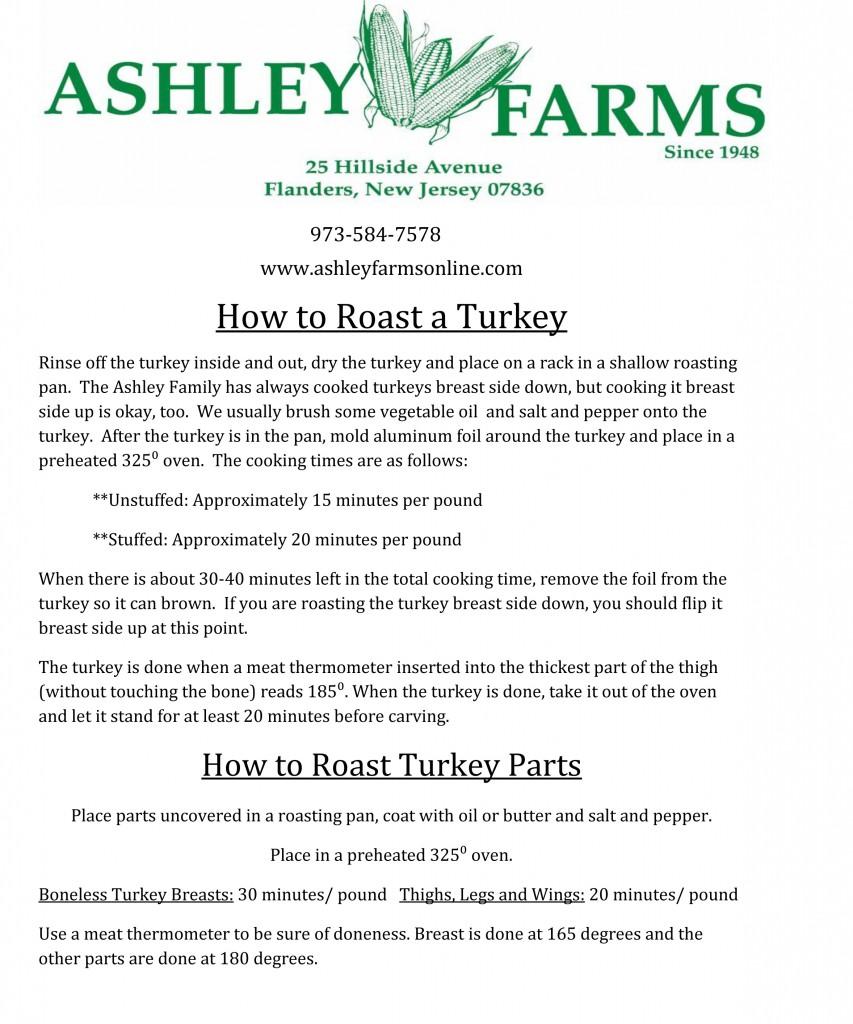 How to Roast Turkey